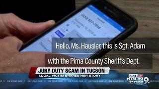 Realistic Jury Duty Scam: Savvy Tucson health professional falls prey to con artist.