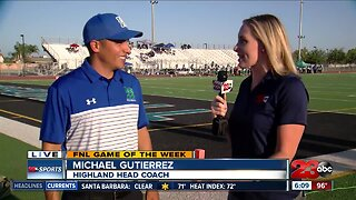 Game of the Week: Live interview with Coach Gutierrez