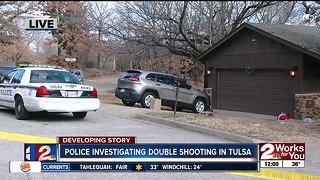 Police investigate Tulsa double shooting