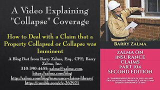 """A Video Explaining """"Collapse"""" Coverage"""