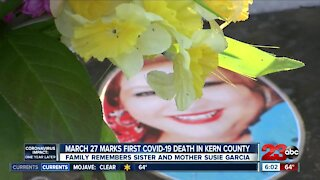 First covid-19 death in Kern County, family reflects a year later