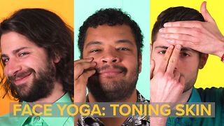 Face Yoga: how to smile your way to more toned skin