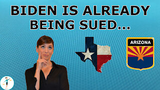 Biden Is Getting Sued, Already!
