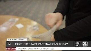 Methodist begins administering COVID-19 vaccines