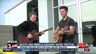 Honoring fallen BPD officer with country music festival