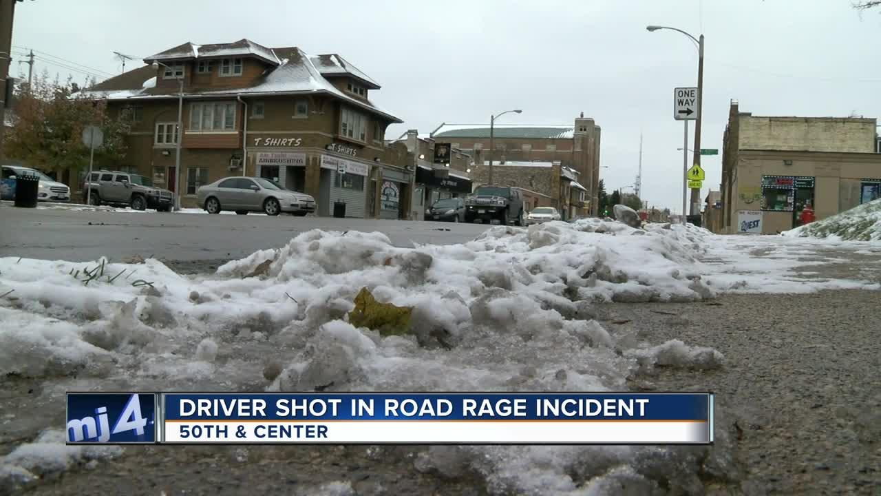 Driver shot for road rage incident