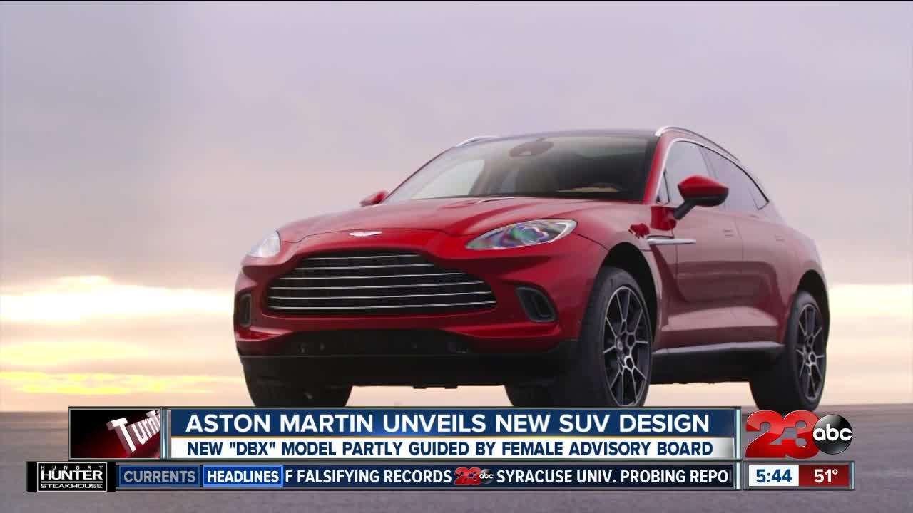 Aston Martin Unveils New SUV Design
