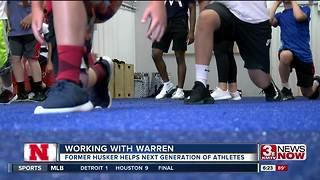 Former Husker Steve Warren helps next generation of athletes