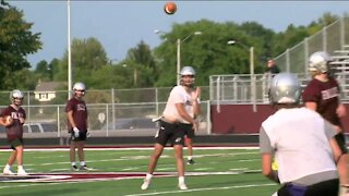 Local high school football teams get ready for a different sort of fall season