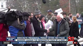 Democratic presidential primary enters new phase