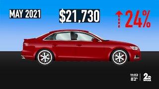 MFM: Used car prices soaring
