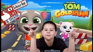 Talking Tom Gold Run I iOS I Android Game Play