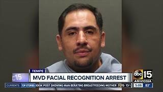 MVD facial recognition helps make arrest