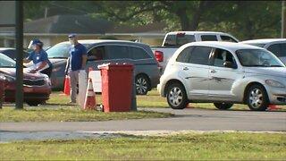 Coronavirus testing site at Raymond James Stadium reopens Wednesday