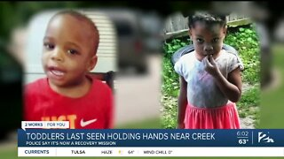 Toddlers Still Missing, Found On Video Going Toward Creek