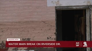 Water main break causes destruction in East End