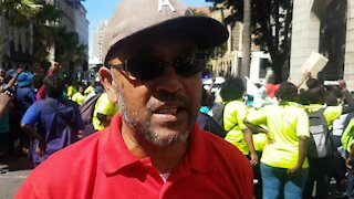 SOUTH AFRICA - Cape Town - National Union of Public Service &