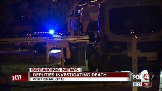 Death investigation underway in Port Charlotte