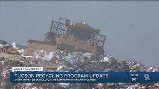 More enforcement coming to how you recycle in Tucson
