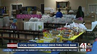 Local church to hold drive-thru food bank