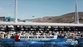 Arizona Gov. Ducey meets with Trump at White House