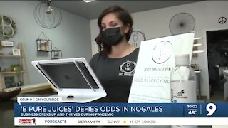 Nogales business owner defies odds during pandemic