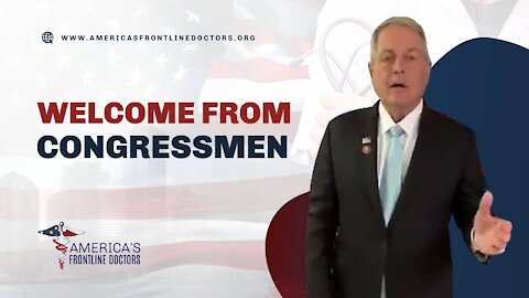 Welcome from Congressmen