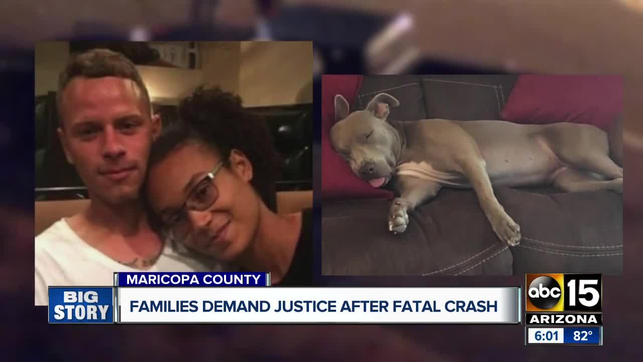 Families demand justice in deadly crash by red light runner