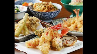 Finest Tempura Restaurant in Akihabara Tokyo Japan - Tempura Hisago Restaurant since 1918 (ひさご)