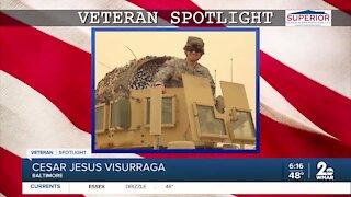 Veteran Spotlight: Cesar Jesus Visurraga of Baltimore