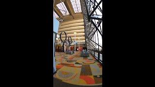 Grand Canyon Concourse at Disney's Contemporary Resort!