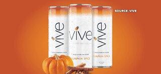 New Pumpkin Spice sparkling water