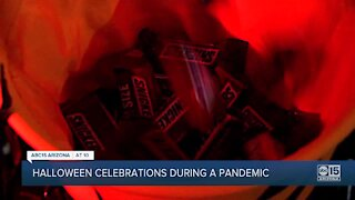 Halloween celebrations during a pandemic