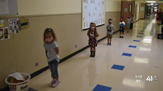 Independence students return to class