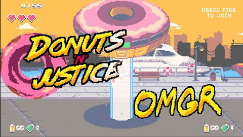 Donuts'n'Justice One Minute Game Review