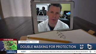 Double masking for protection