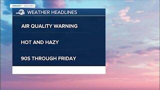 Monday 5:15 a.m. forecast