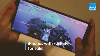 iPhones with Fortnite for sale!
