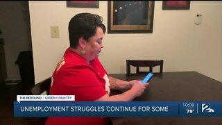 Unemployment struggles continue