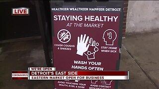 Eastern Market Open for Business