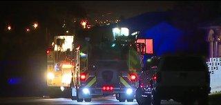 House fire near Sloan and Bonanza