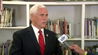 Vice President Pence addresses Black Lives Matter movement