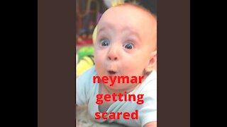 neymar getting scared