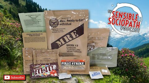 Ep 091: We're Unboxing Survival Food, Review Real Military MRE Rations
