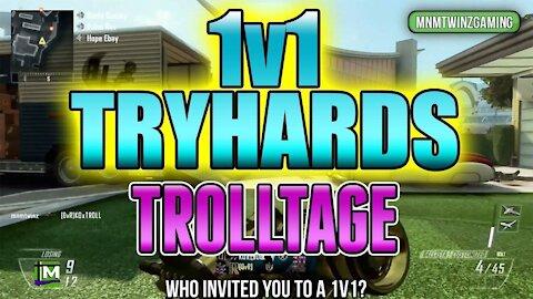 "BO2 - ""1v1 Tryhards Raging Trolltage"" w/ @Mnmtwinz (Black Ops 2)"