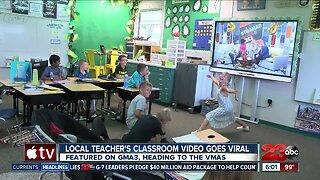 Local Teacher's Classroom Video Goes Viral