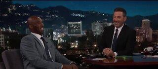 Jimmy Kimmel pays tribute to Kobe Bryant
