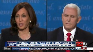 Pence, Harris face off in only vice presidential debate