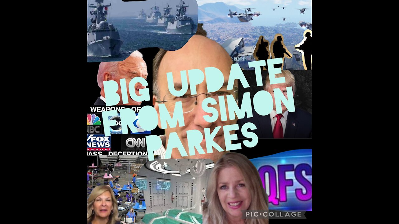Simon Parkes Must See Interview! Trump's Return, Military Action! - Video