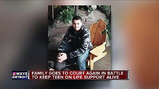 Family goes to court again in battle to keep teen on life support alive